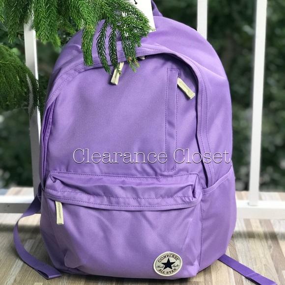 fc088a690c26 NWT Converse Original Backpack Lilac WMNS